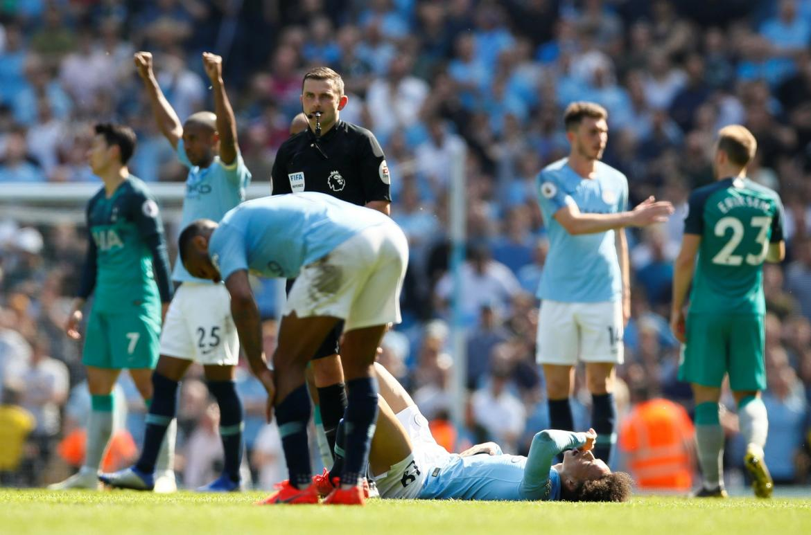 Premier League: Manchester City vs. Tottenham, Reuters
