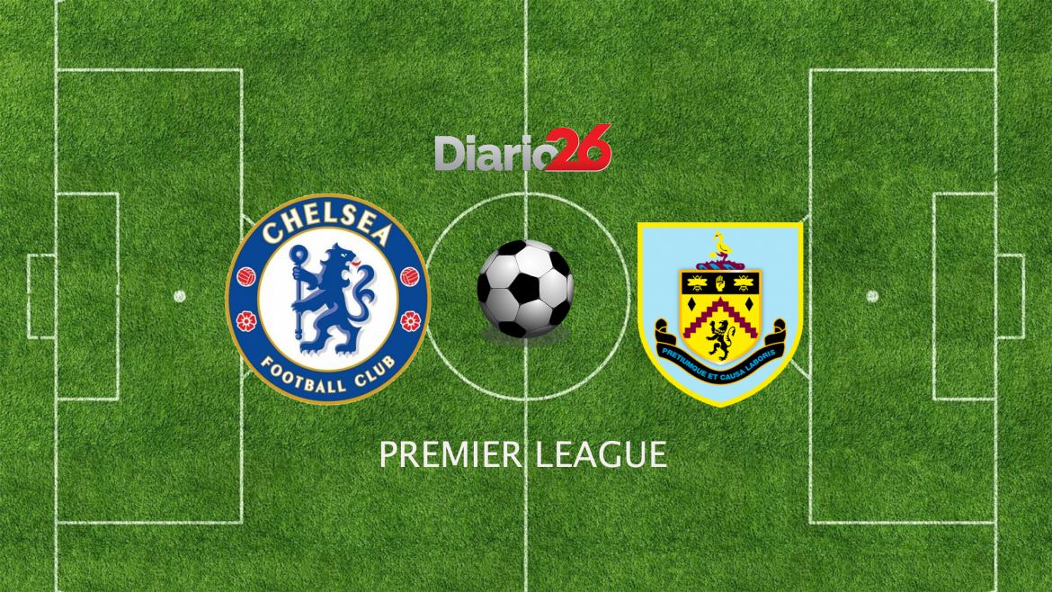 Chelsea vs. Burnley por Premier League, Diario 26