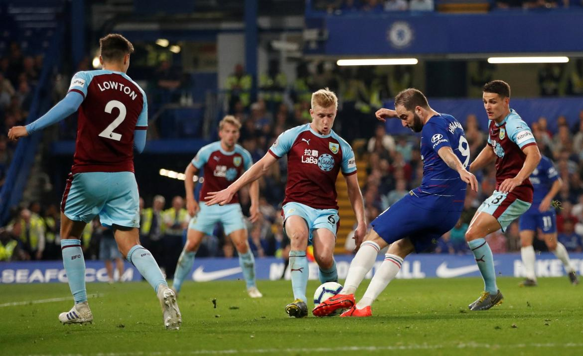 Chelsea vs. Burnley por Premier League, Reuters