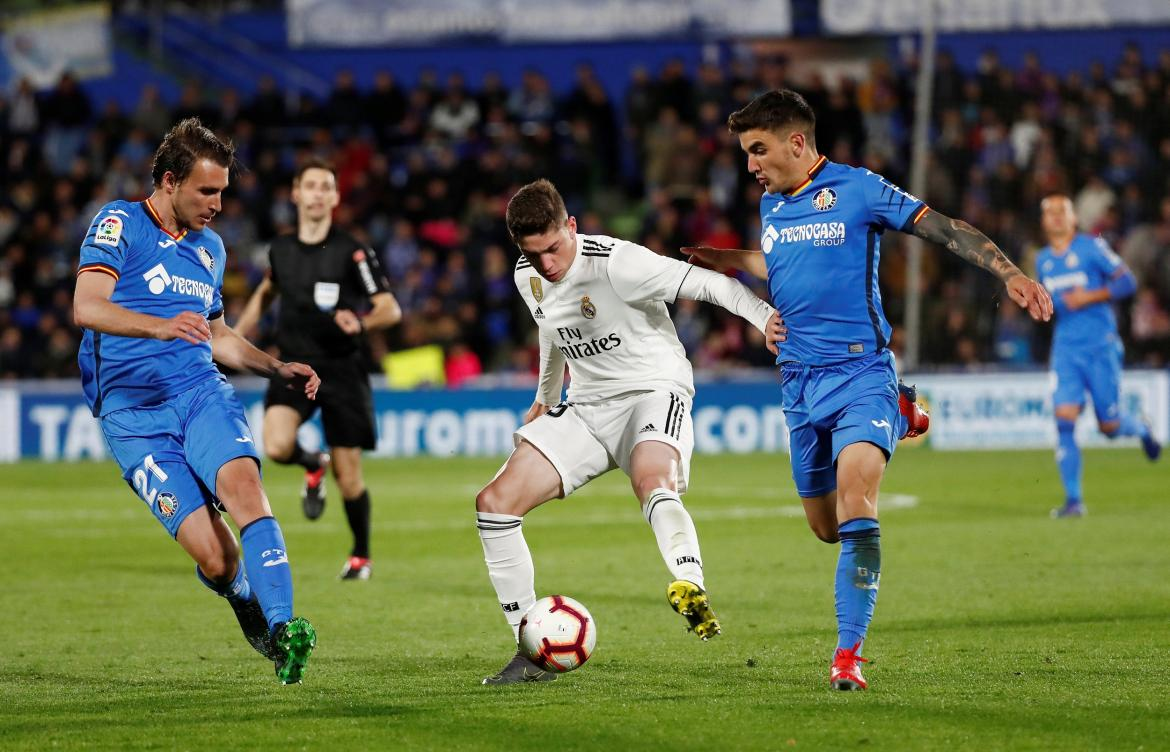 La Liga Santander - Getafe vs. Real Madrid, Reuters