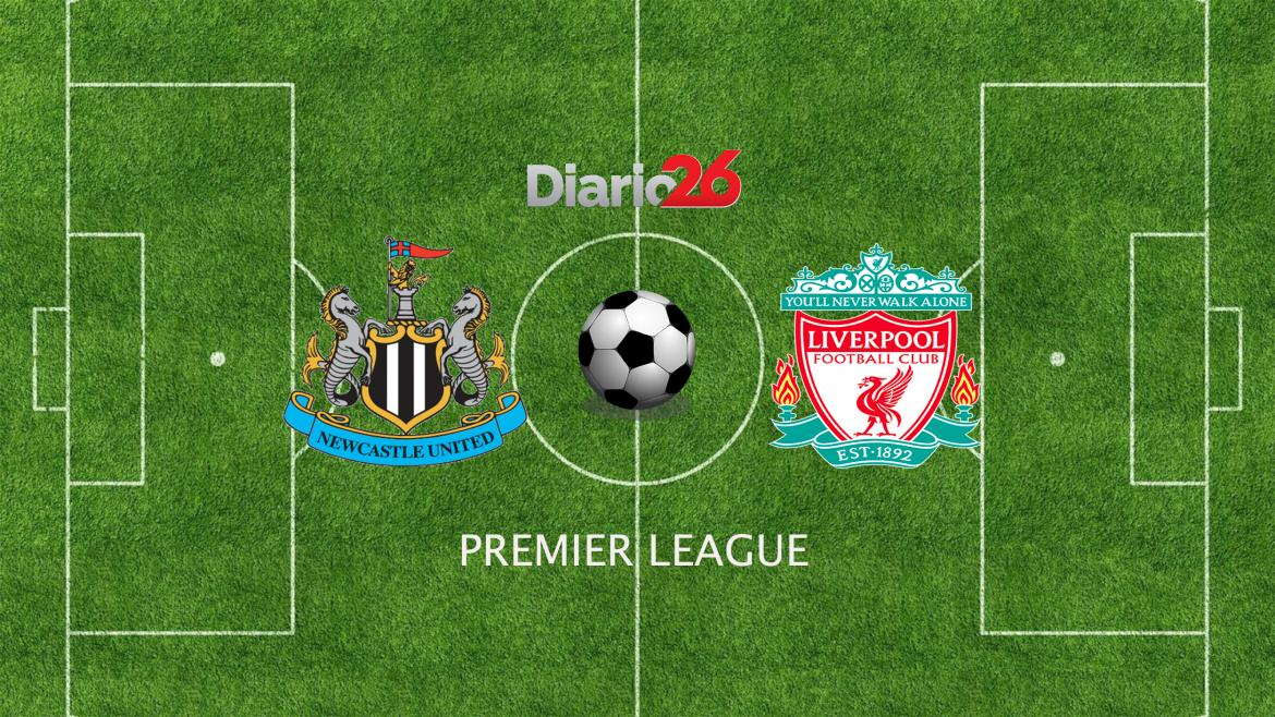 Newcastle vs. Liverpool por Premier League, Diario 26