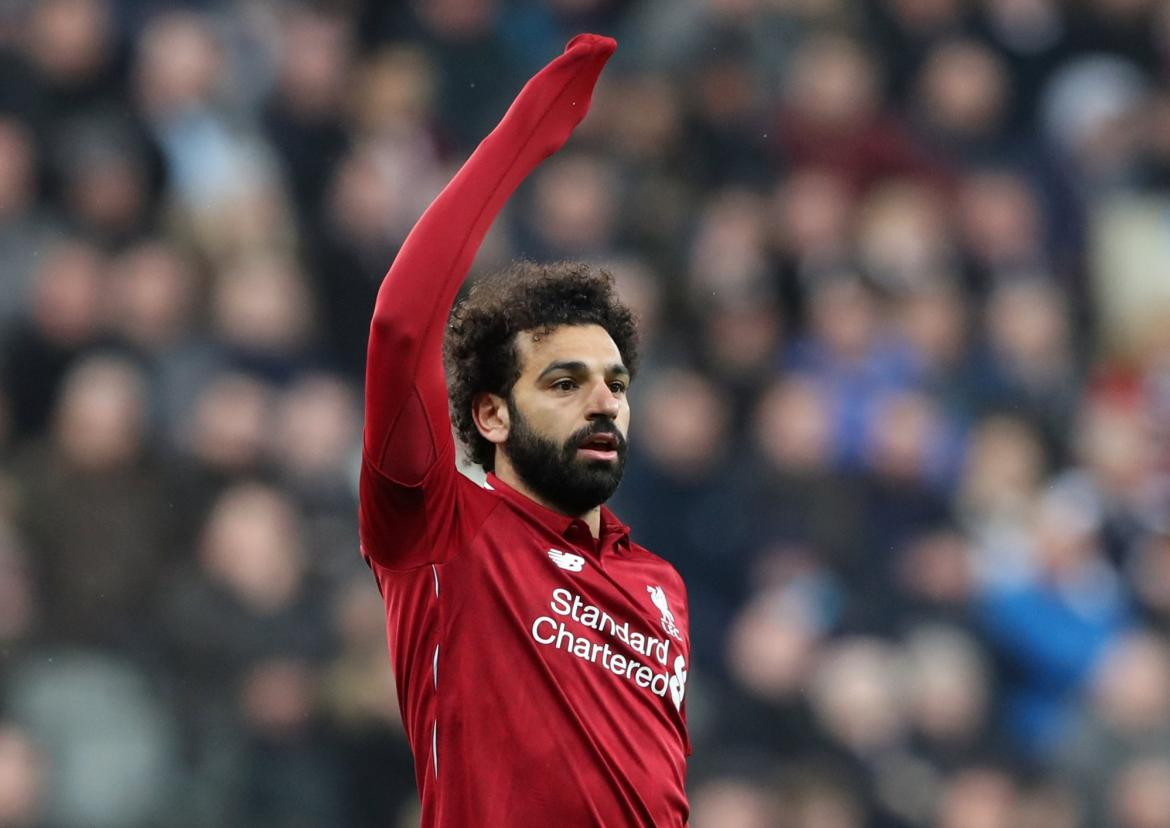 Newcastle vs. Liverpool por Premier League, Salah, Reuters