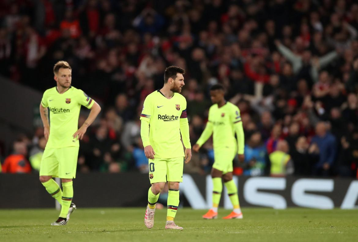 Champions League - Liverpool vs. Barcelona - Messi - Reuters