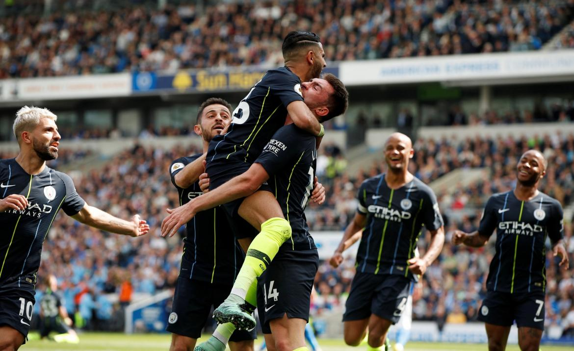 Brighton vs Manchester City - Premier League Reuters