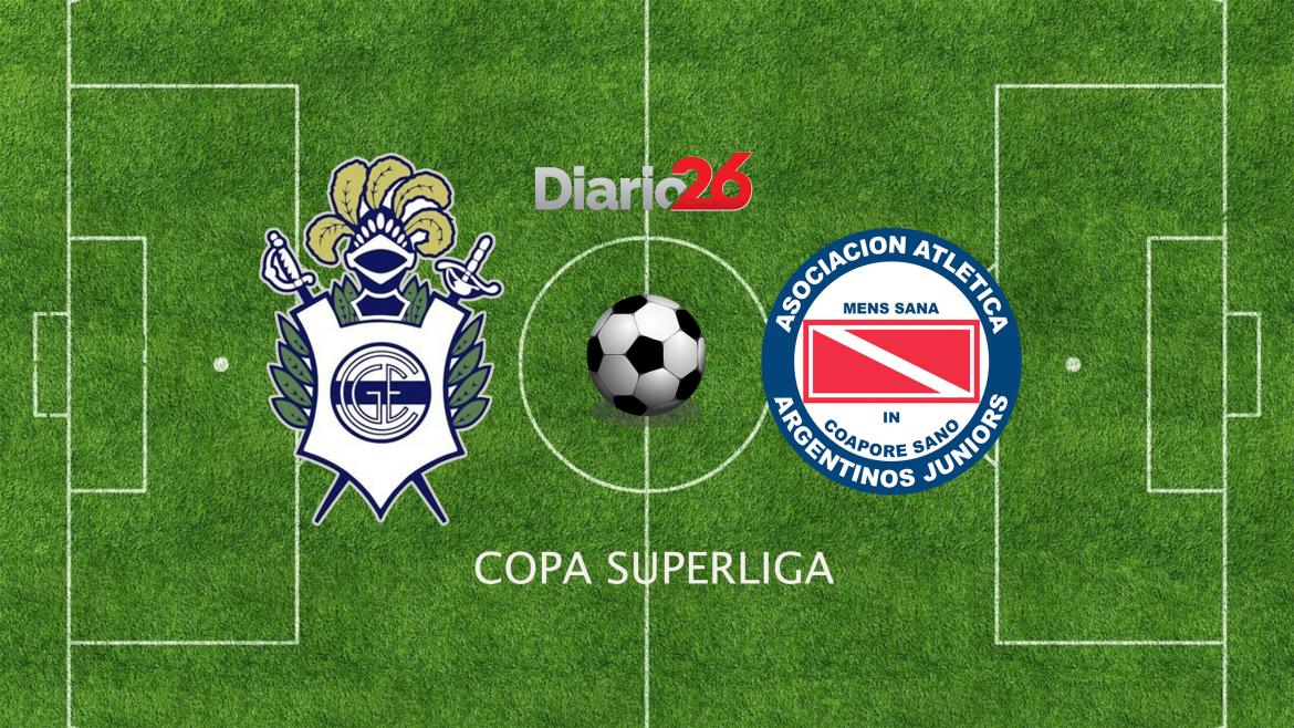 Copa Superliga - Gimnasia (LP) vs. Argentinos Juniors - Diario 26