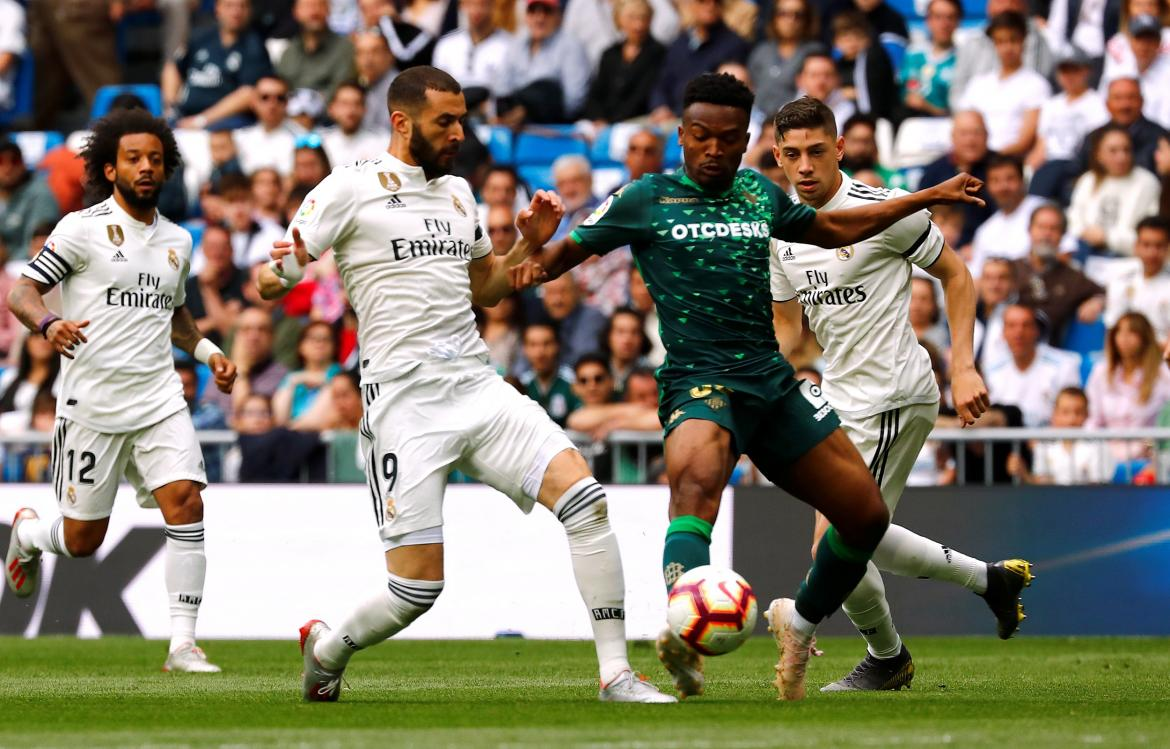 Real Madrid vs Betis - La Liga Reuters