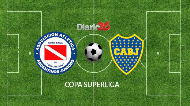 Copa Superliga - Argentinos Juniors vs Boca - Diario 26