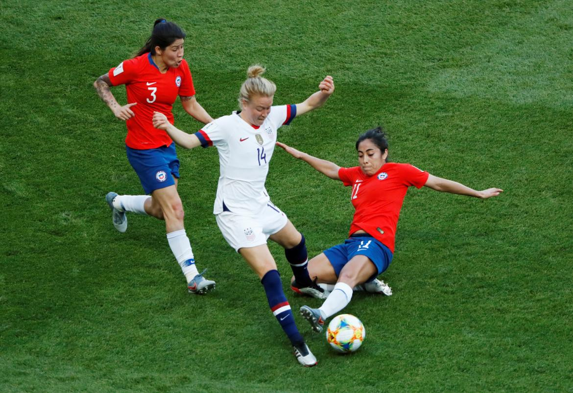 Mundial Femenino 2019 - Estados Unidos vs. Chile (Reuters)
