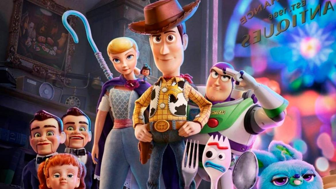 Toy Story 4, cines