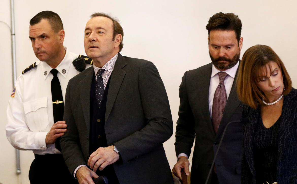 Kevin Spacey, tribunales de Estados Unidos, REUTERS