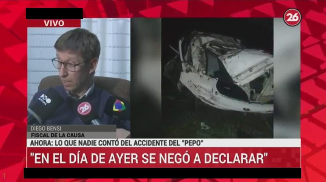 Diego Bensi, fiscal de causa de accidente de