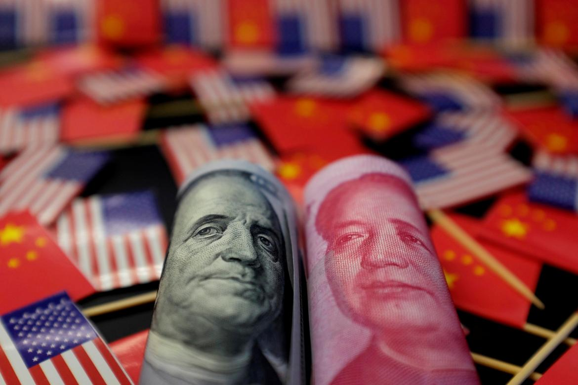 Moneda china, guerra comercial, REUTERS