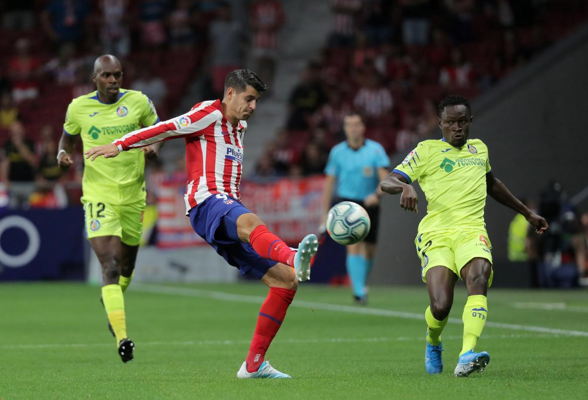 La Liga, Atlético Madrid vs. Getafe, REUTERS