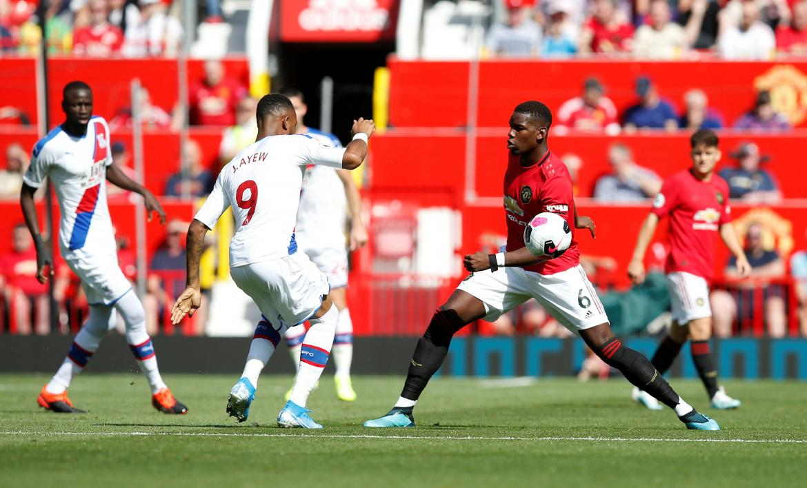 Premier League, Manchester United vs. Crystal Palace, REUTERS