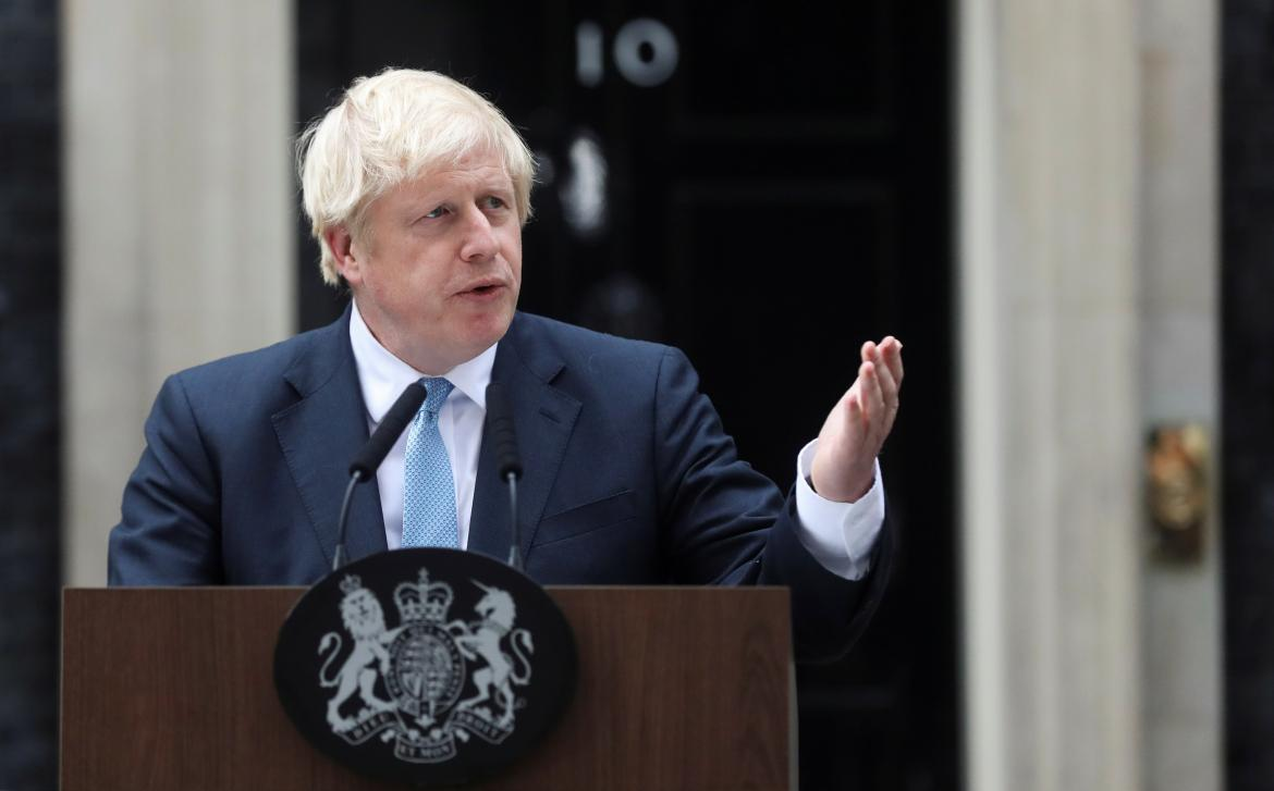 Boris Johnson, Brexit, Gran Bretaña, Unión Europea, REUTERS