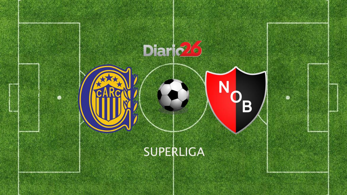 Superliga - Rosario Central vs. Newells, Diario 26