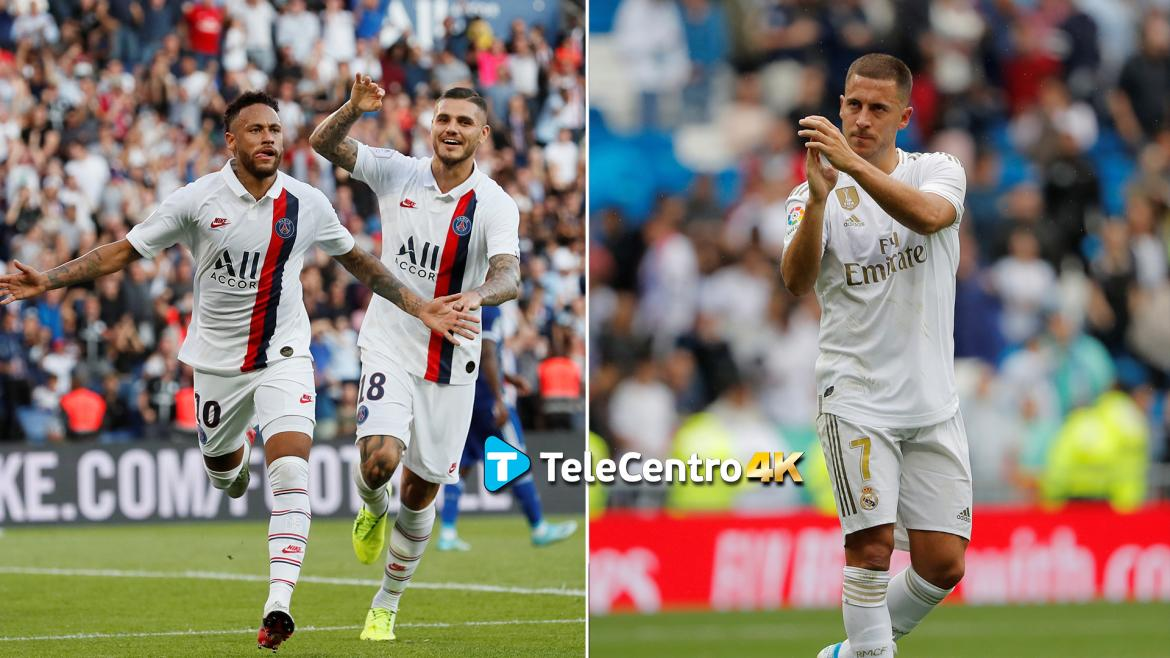 Champions League, PSG vs. Real Madrid, TeleCentro 4K