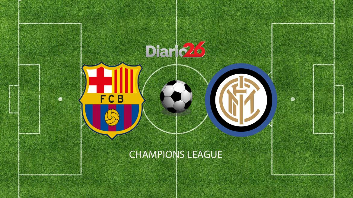 Champions League, Barcelona vs. Inter, Diario 26
