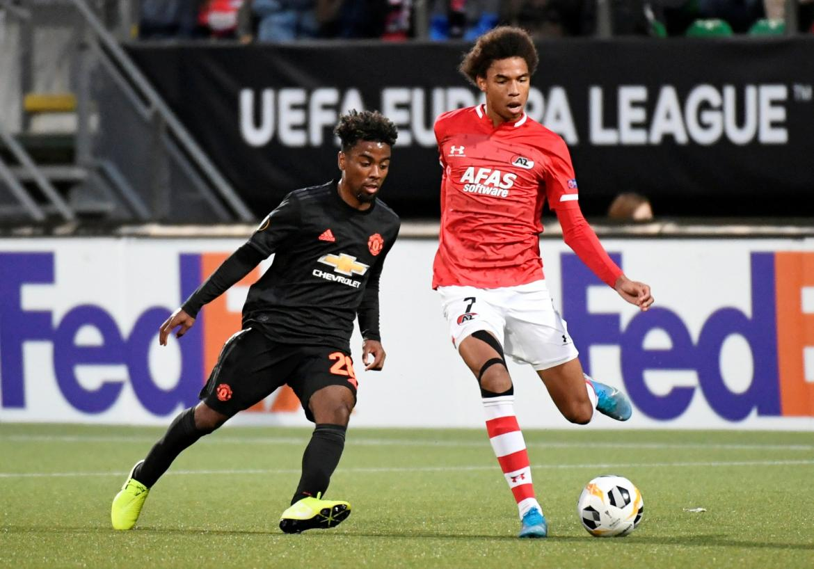 AZ Alkmaar vs United, Europa League, REUTERS