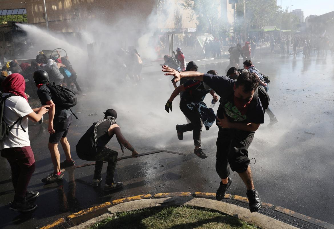 Protestas en Chile, incidentes y manifestaciones, REUTERS