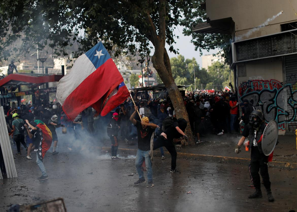 Chile, protestas, REUTERS