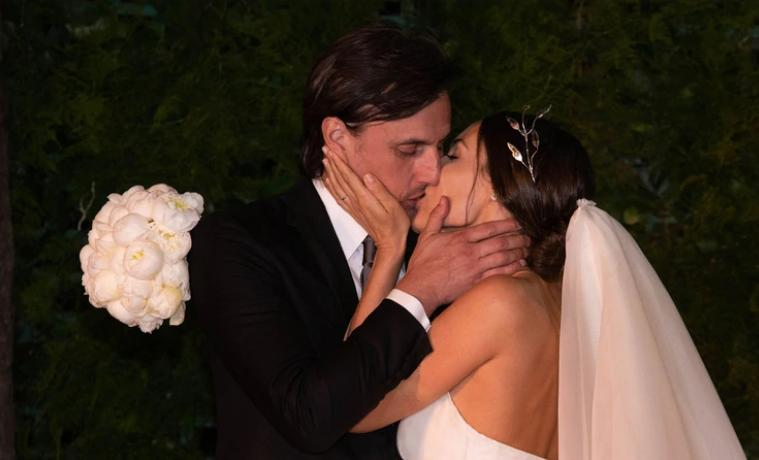 Pampita, video de casamiento