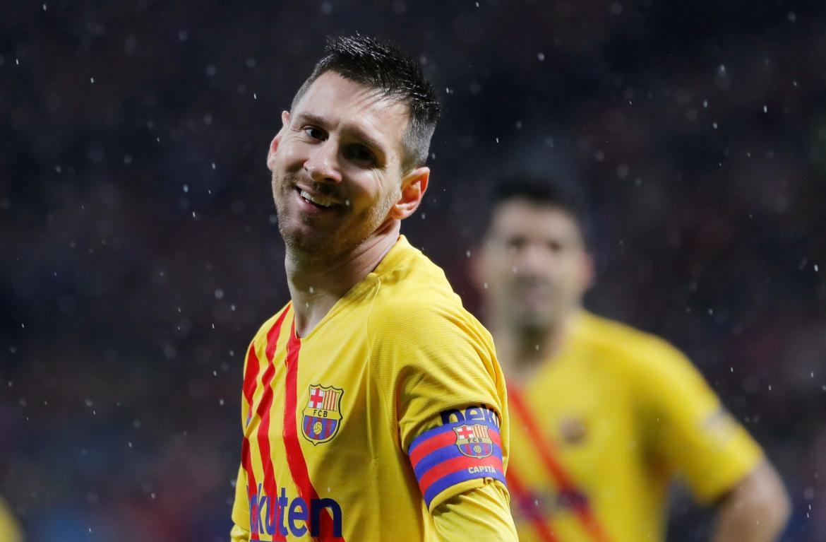 La Liga, Atlético Madrid vs. Barcelona, Lionel Messi, REUTERS