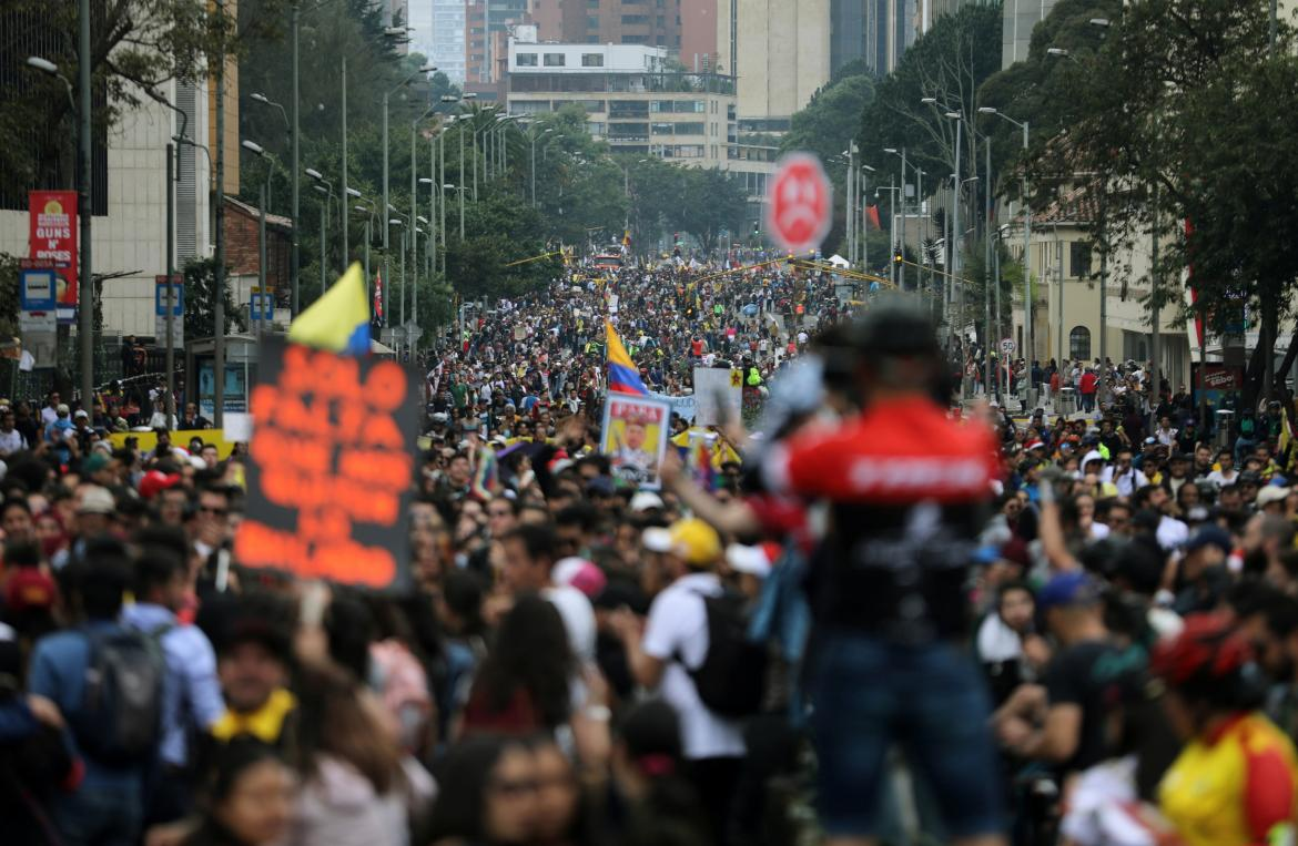 Protestas en Colombia, REUTERS