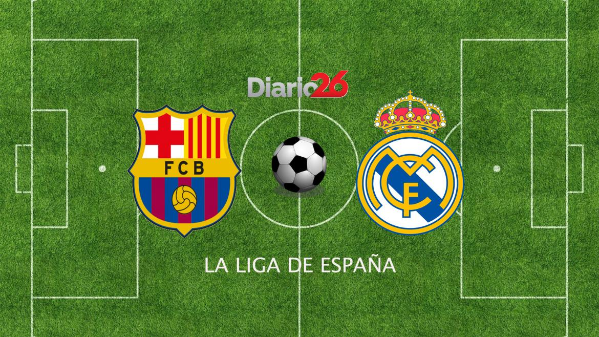 La Liga Santander Barcelona vs. Real Madrid