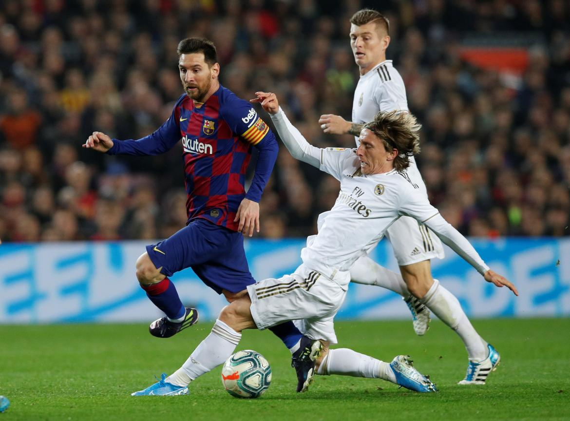Barcelona vs Real Madrid, La Liga, España, REUTERS