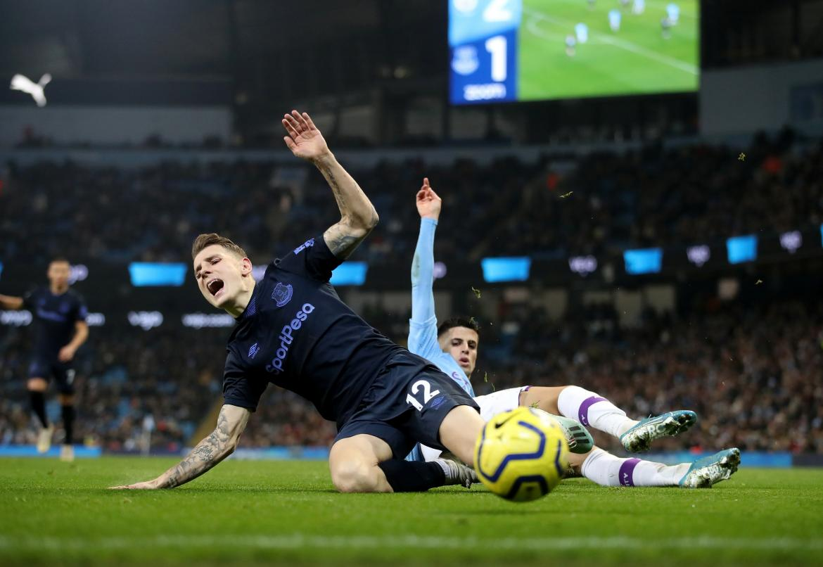 Premier League, Manchester City vs. Everton, REUTERS