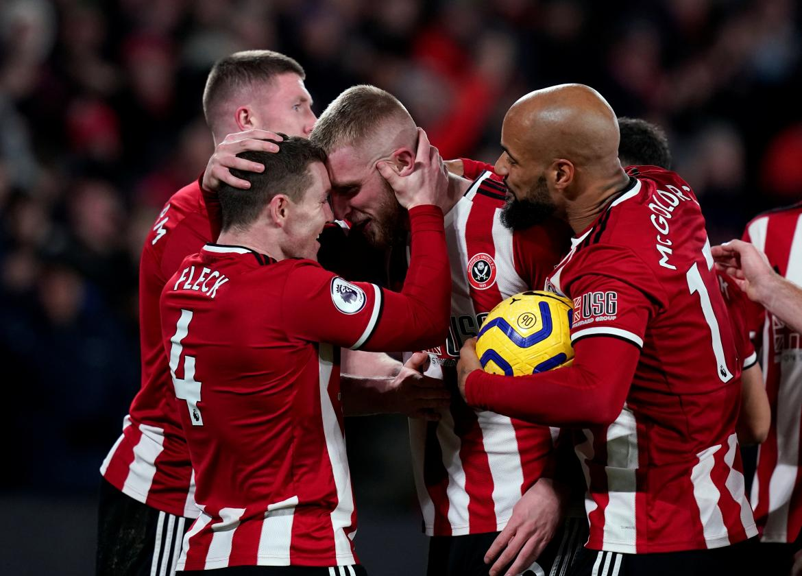 Premier League, Sheffield United vs. West Ham, REUTERS