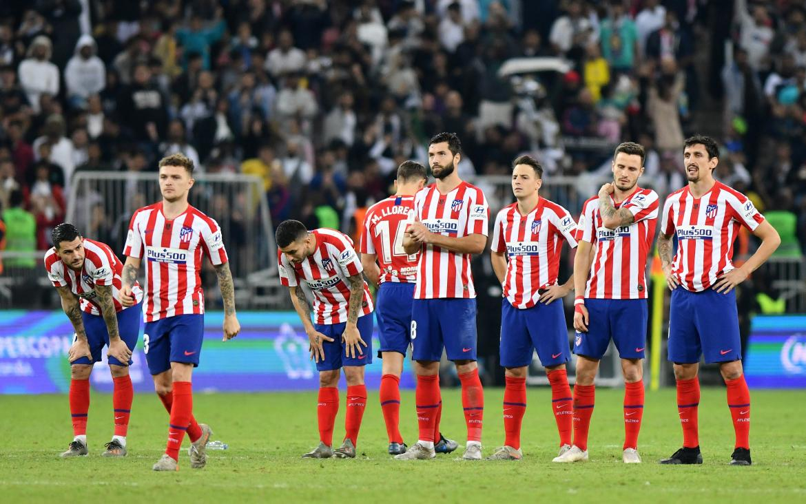 Atlético de Madrid vs Real Madrid, Supercopa, REUTERS
