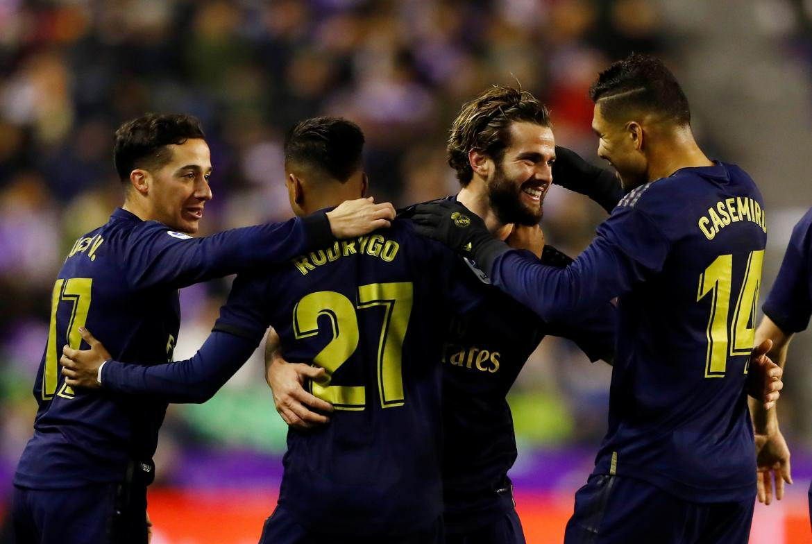 La Liga Valladolid vs. Real Madrid, REUTERS