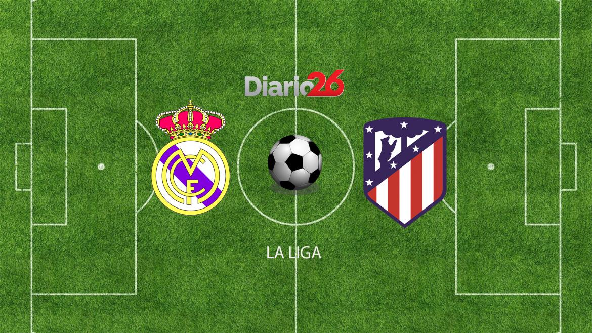 La Liga, Real Madrid vs. Atlético de Madrid, DIARIO 26
