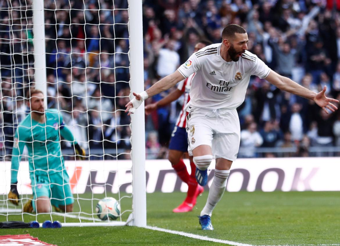 Real Madrtid, Benzema, gol, Reuters