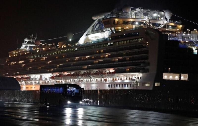 Crucero Diamond Princess, REUTERS