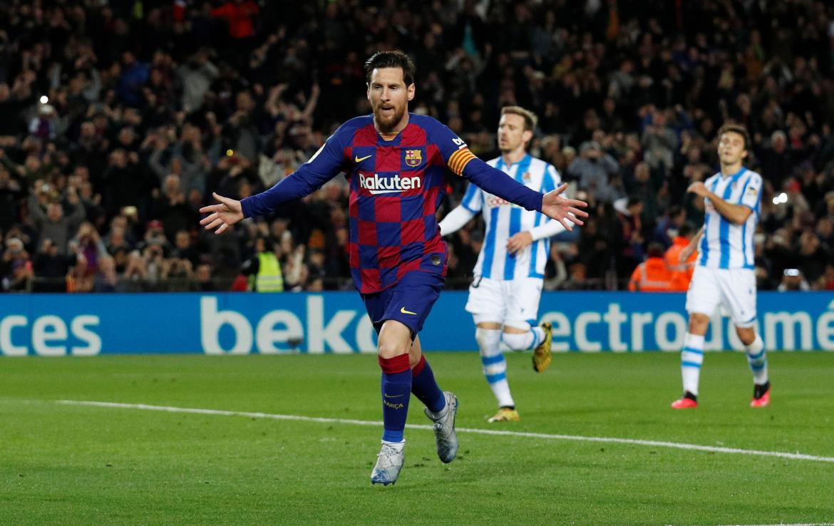 Barcelona vs Real Sociedad, La Liga, REUTERS