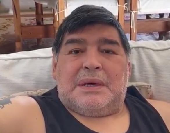 Diego Maradona, video