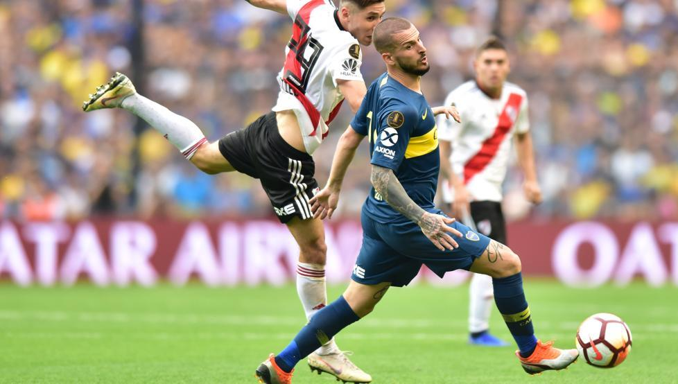 Benedetto, Boca vs River