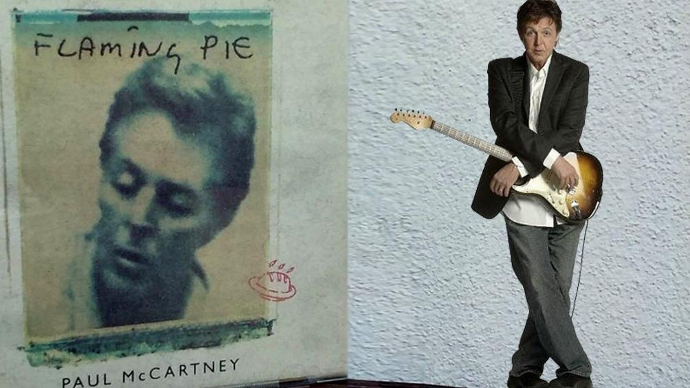Paul McCartney, disco Flaming Pie, música