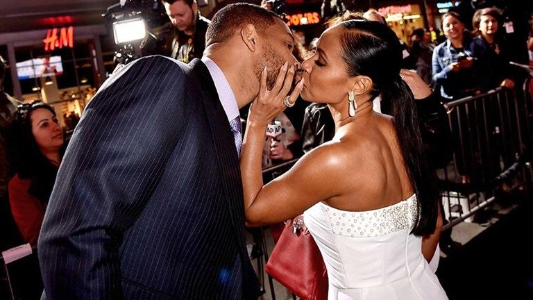 Will Smith con su esposa Jada Pinkett