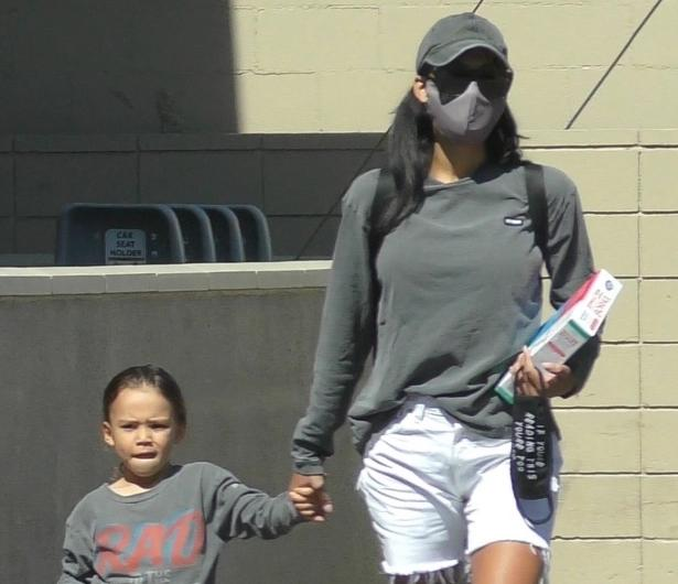 Naya Rivera y su hijo, The Sun