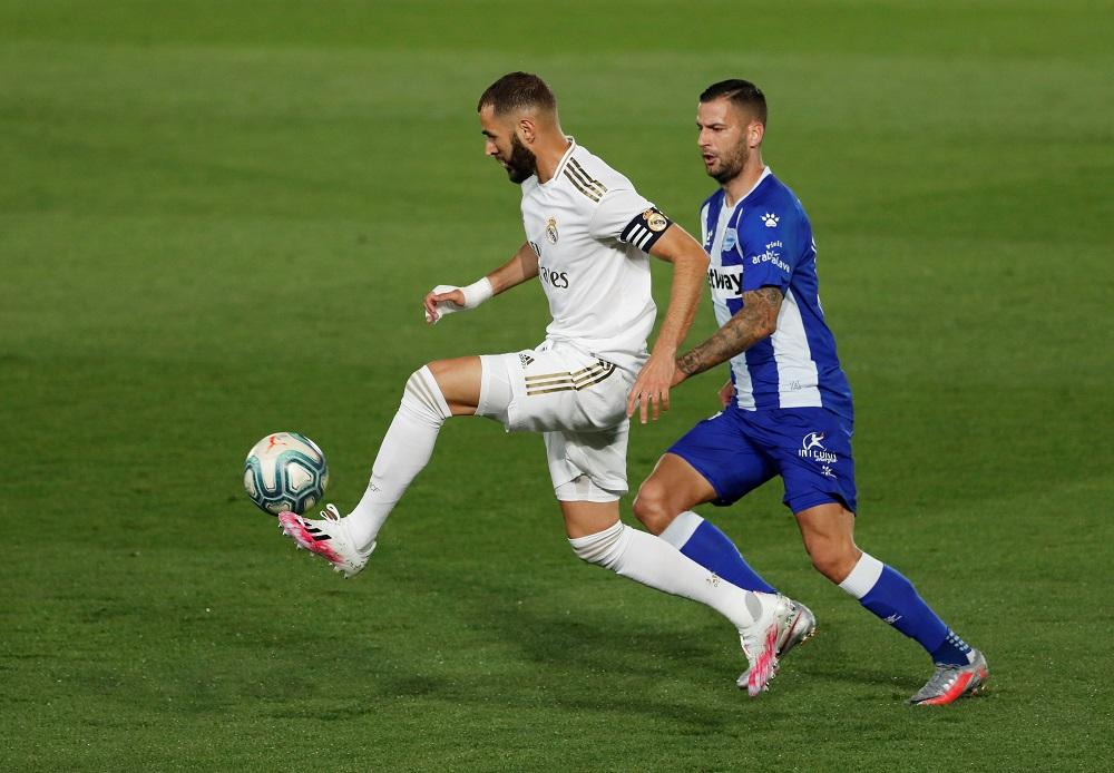 Benzema, Real Madrid vs. Alavés, Reuters