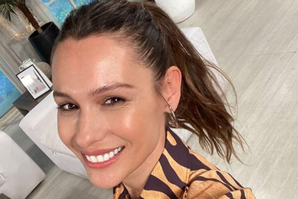 Pampita, conductora