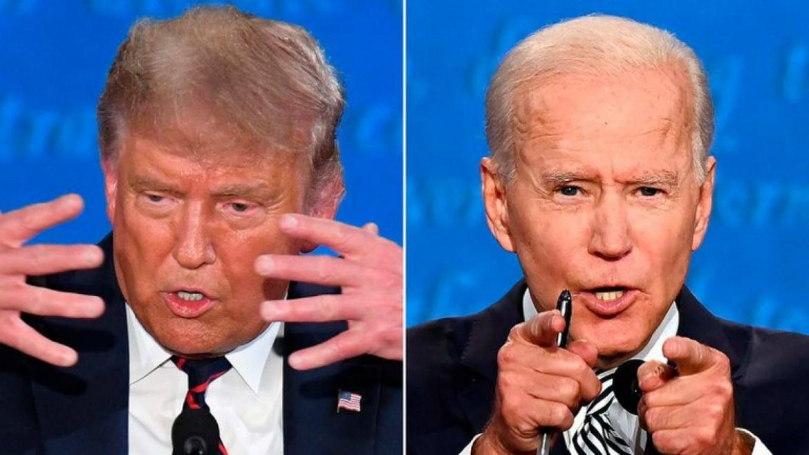 Debate presidencial Donald Trump Vs. Joe Biden