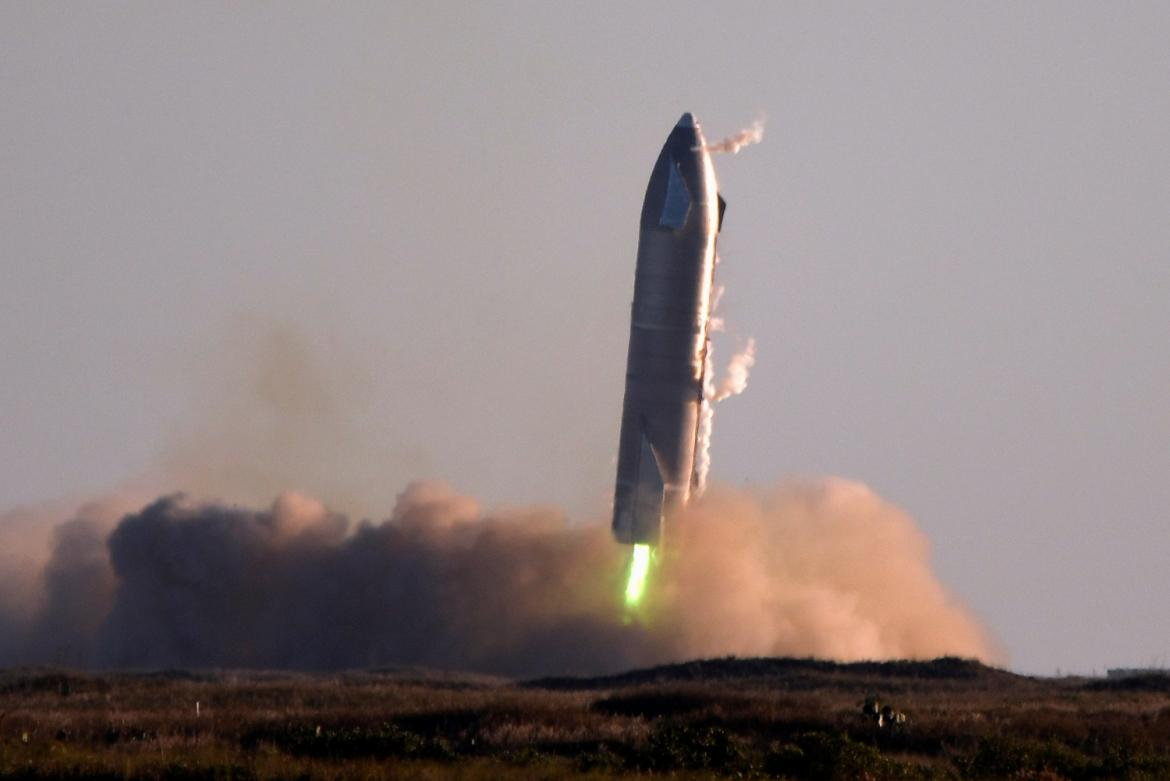 Nave Starship de SpaceX, REUTERS