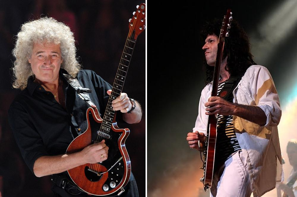 Brian May, guitarrista de Dios salve a la Reina, Queen, NA
