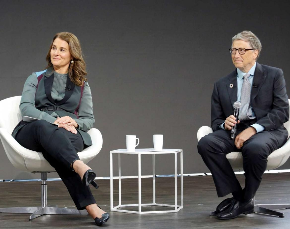 Bill y Melinda Gates, REUTERS