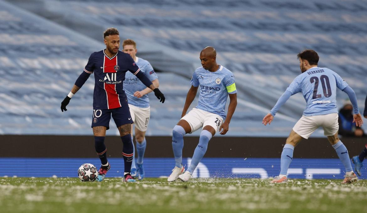 Champions League, Manchester City vs. PSG, REUTERS
